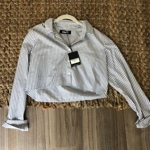 NWT Reformation Button Down Blouse
